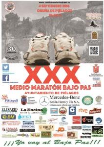 XXX Medio Maratón Bajo Pas - Ayuntamiento de Piélagos @ Oruña de Piélagos | Cantabria | España