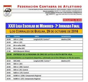 XII Liga Escolar de Menores - Final @ Los Corrales de Buelna | Cantabria | España