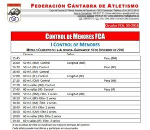 I Control de Menores FCA @ Santander | Cantabria | España
