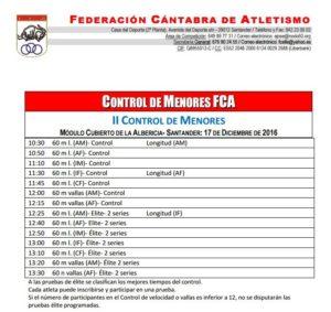 II Control de Menores FCA @ Santander | Cantabria | España
