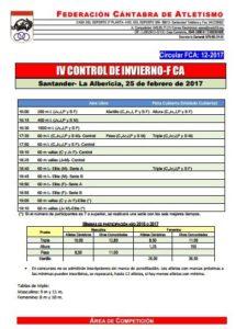 IV Control de Invierno FCA @ Santander | Cantabria | España