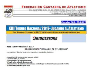 XIII Torneo Jugando al Atletismo - Fase Regional @ Requejada | Cantabria | España