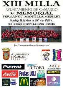 XIII Milla Ayuntamiento de Camargo - VI Memorial Fernando Mantilla Mesiert @ Muriedas | Cantabria | España
