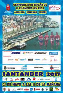 VI 10 Km. Ciudad de Santander / Campeonato de España Absoluto y Veterano de 10 Km. @ Santander | Cantabria | España