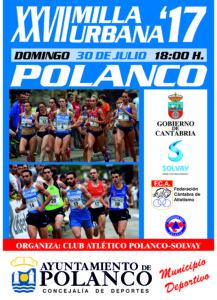 XXVII Milla Urbana de Polanco @ Polanco | Cantabria | España