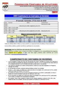 XXIV Campeonato de Cantabria de Invierno - 4ª Jornada @ Santander | Cantabria | España