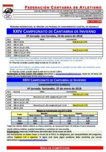 XXIV Campeonato de Cantabria de Invierno - 3ª Jornada @ Los Corrales de Buelna | Cantabria | España