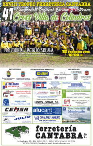 XLI Cross Villa de Colindres - I Memorial Jacinto Solana / Campeonato de Cantabria de Cross Escolar y Veterano @ Colindres | Cantabria | España
