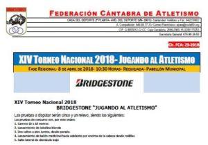 XIV Torneo Nacional 'Jugando al Atletismo' - Fase Regional @ Requejada | Cantabria | España