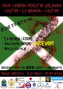 XXVII Carrera Pedestre Solidaria Castro-La Granja-Castro @ Castro Urdiales | Cantabria | España