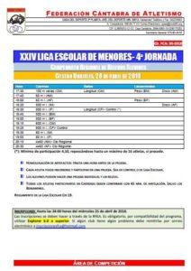 XXIV Liga Escolar de Menores - 4ª Jornada @ Castro Urdiales | Cantabria | España
