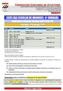 XXIV Liga Escolar de Menores - 6ª Jornada @ Santander | Cantabria | España