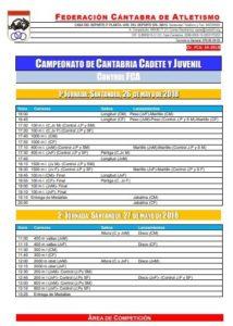 Campeonato de Cantabria Juvenil y Cadete - 1ª y 2ª Jornada @ Santander | Cantabria | España