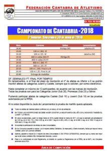 Campeonato de Cantabria Absoluto y Júnior - 1ª Jornada @ Santander | Cantabria | España