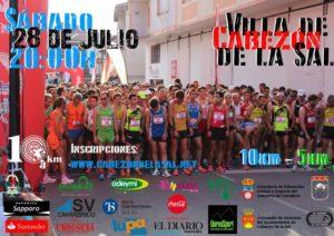 VIII 10 Km. y IV 5 Km. Villa de Cabezón