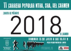 XI Carrera Popular Nuestra Señora del Carmen @ Zurita | Cantabria | España