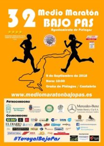 XXXII Medio Maratón Bajo Pas - Ayuntamiento de Piélagos