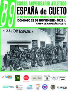 LXXXIX Cross Aniversario Atlético España de Cueto - IV Memorial Juan Manuel de Blas Lanza @ Santander | Cantabria | España