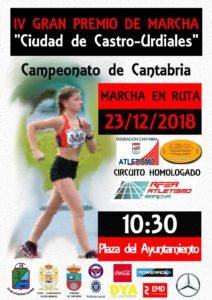 IV Gran Premio de Marcha Ciudad de Castro Urdiales / Campeonato de Cantabria de Marcha en Ruta