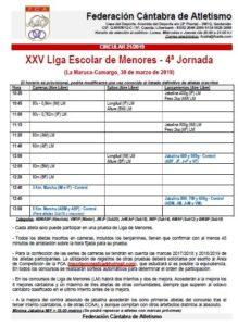 XXV Liga Escolar de Menores - 4ª Jornada @ La Maruca, Camargo