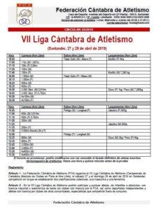 VII Liga Cántabra de Atletismo @ Santander, Cantabria