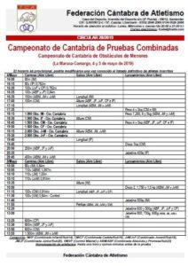 Campeonato de Cantabria de Pruebas Combinadas / Campeonato de Cantabria de Obstáculos de Menores @ La Maruca, Camargo