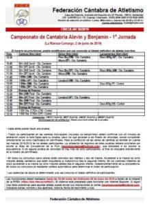 Campeonato de Cantabria Alevín y Benjamín - 1ª Jornada @ La Maruca, Camargo