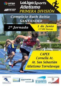 Campeonato de España de Clubes de Primera División - 2ª Jornada / Atletismo Torrelavega-CAPEX-Cornellá Atletismo-Atlético San Sebastián @ Santander, Cantabria