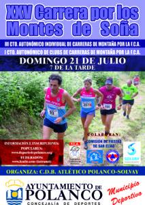 XXV Carrera por los Montes de Soña - III Campeonato de Cantabria de Carrera de Montaña Individual y I por Clubes @ Soña, Polanco