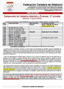 Campeonato de Cantabria Absoluto y Promesa - 2ª Jornada @ Santander, Cantabria