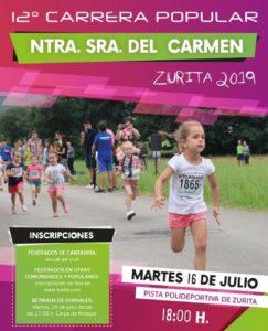XII Carrera Popular Nuestra Señora del Carmen @ Zurita de Piélagos