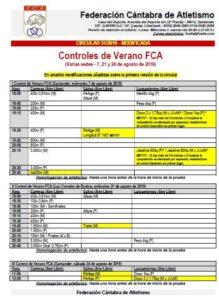 III Control de Verano FCA @ Santander, Cantabria