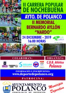 II Carrera Popular de Nochebuena Ayuntamiento de Polanco - II Memorial Bernardo Ayllón 'Nardo' @ Polanco, Cantabria