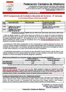 XXVI Campeonato de Cantabria de Invierno - 2ª Jornada @ Los Corrales de Buelna, Cantabria