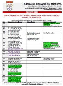 XXVI Campeonato de Cantabria de Invierno - 4ª Jornada @ Santander, Cantabria
