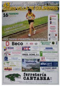 XLIII Cross Villa de Colindres - III Memorial Jacinto Solana / Campeonato de Cantabria de Campo a Través Escolar y Veterano @ Colindres, Cantabria