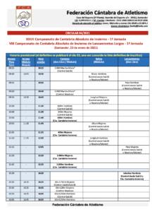 XXVII Campeonato de Cantabria de Invierno - 1ª Jornada @ Santander, Cantabria