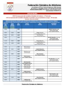 XXVII Campeonato de Cantabria Absoluto de Invierno - 2ª Jornada @ Santander, Cantabria