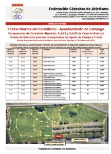 I Cross Marina del Cantábrico - Campeonato de Cantabria Absoluto, Sub23 y Sub20 de Campo a Través Individual @ Marina del Cantábrico (Raos, Camargo)