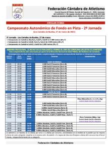 Campeonato de Cantabria de Fondo en Pista - 2ª Jornada @ Los Corrales de Buelna