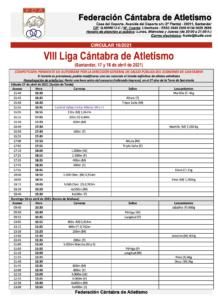 VIII Liga Cántabra de Atletismo @ Complejo Deportivo Ruth Beitia