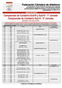 Campeonato de Cantabria Sub18 y Sub16 - 1ª Jornada / Campeonato de Cantabria Sub14 - 2ª Jornada @ Santander, Cantabria