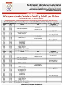 I Campeonato de Cantabria Sub12 y Sub10 por Clubes @ Los Corrales de Buelna