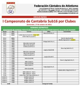 I Campeonato de Cantabria Sub16 por Clubes @ Santander, Cantabria